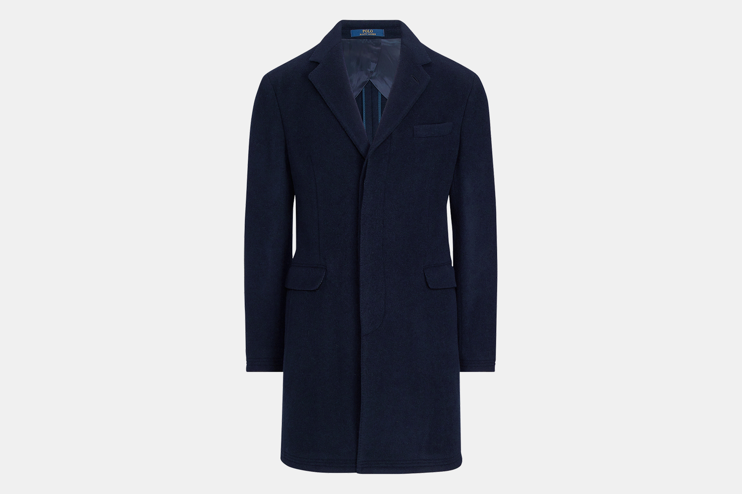 Ralph Lauren Men's Polo Soft Wool-Blend Topcoat