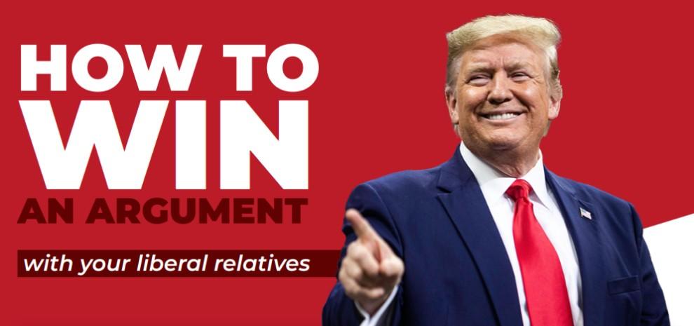 Trump campaign website
