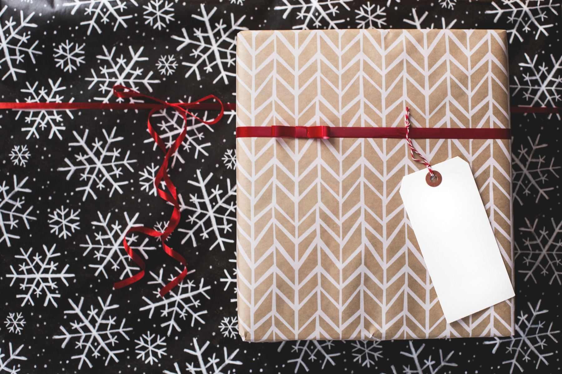wrapping paper hack