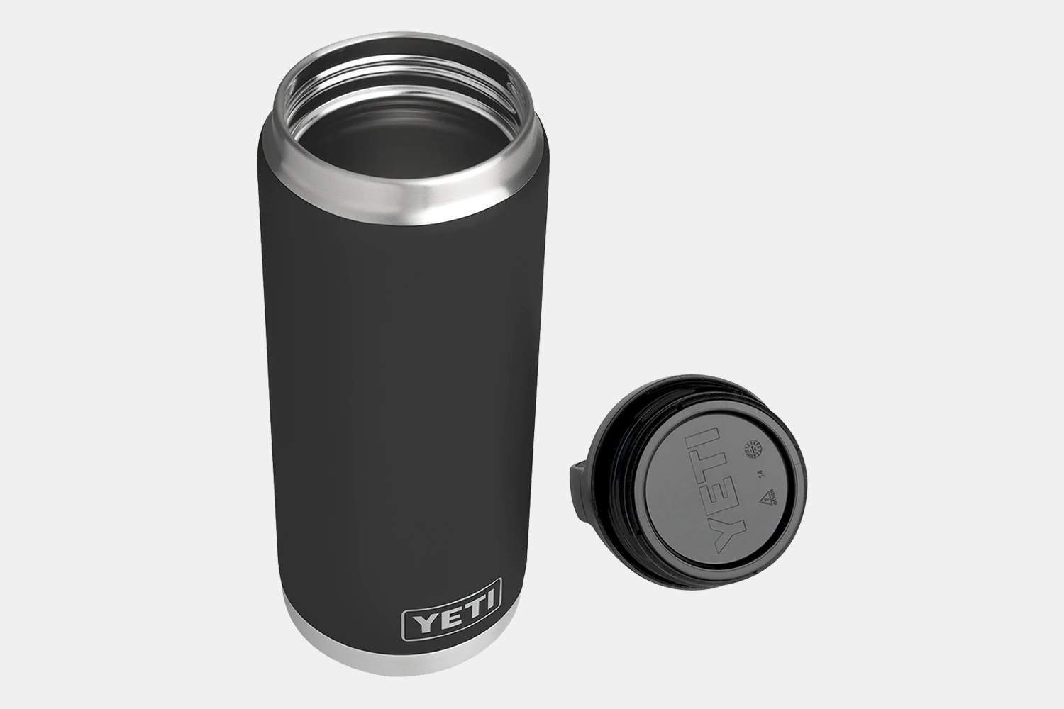 Yeti Rambler 26oz Bottle and caps