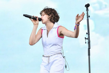 King Princess performs during Austin City Limits Festival at Zilker Park on October 04, 2019 in Austin, Texas. (Photo by Erika Goldring/FilmMagic)