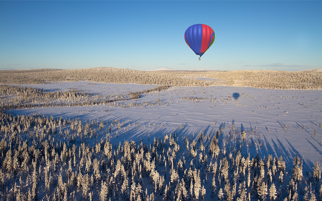 Search for the Northern Lights in a Hot Air Balloon - InsideHook