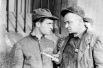 "Chester Morris and Wallace Beery in ""The Big House"""