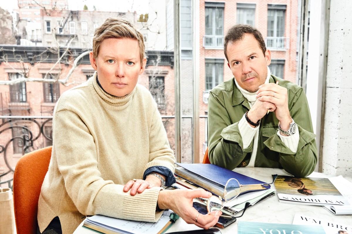 The novelty of a print power couple today isn't lost on Yolanda Edwards and Matt Hranek.