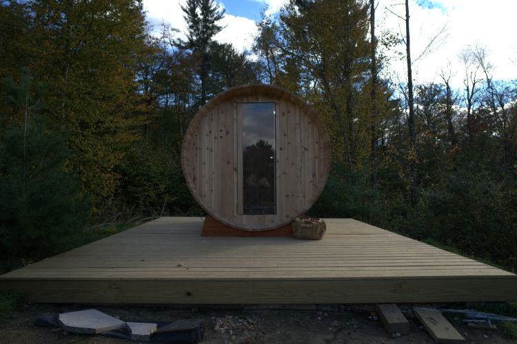 A 10-Step Guide to Building Your Very Own Wood-Burning Sauna