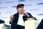 Sound Ventures Co-Founder Ashton Kutcher speaks onstage during TechCrunch Disrupt San Francisco 2019 at Moscone Convention Center on October 04, 2019 in San Francisco, California. (Photo by Steve Jennings/Getty Images for TechCrunch)