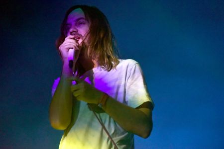 Kevin Parker of Tame Impala performs during the ACL Music Festival 2019 at Zilker Park on October 04, 2019 in Austin, Texas. (Photo by Tim Mosenfelder/FilmMagic)