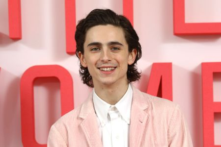 Timothee Chalamet attends the Little Women London evening photocall at the Soho Hotel on December 16, 2019 in London, England. Little Women releases in UK cinemas on 26th December. (Photo by Tim P. Whitby/Tim P. Whitby/Getty Images for Sony Pictures Releasing UK)