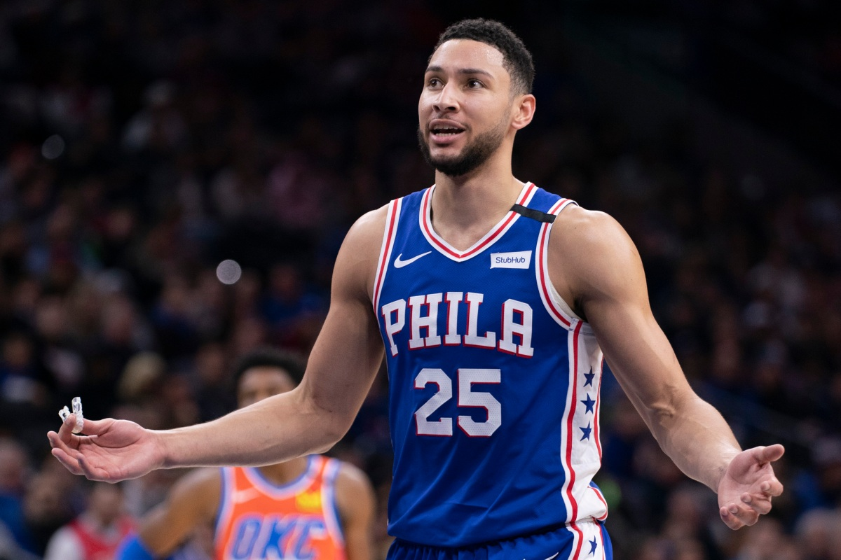 Ben Simmons is the future of the NBA. He's also the CEO of mulishness.