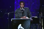 "Sean ""Diddy"" Combs speaks onstage during the Pre-GRAMMY Gala and GRAMMY Salute to Industry Icons Honoring Sean ""Diddy"" Combs on January 25, 2020 in Beverly Hills, California. (Photo by Gregg DeGuire/Getty Images for The Recording Academy)"