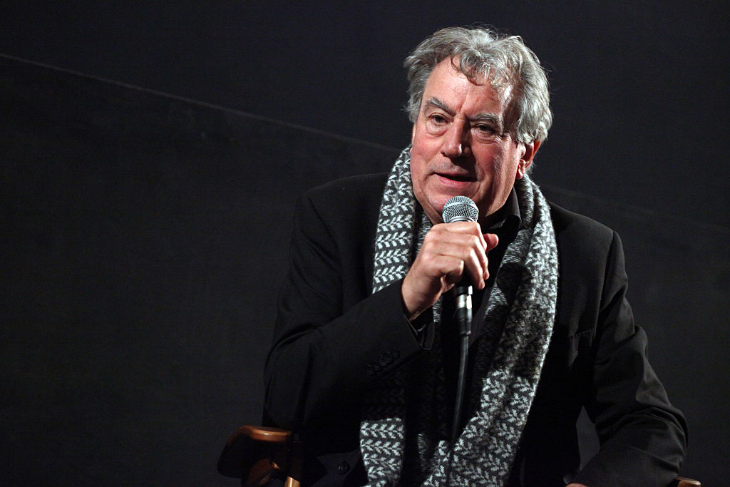 Actor Terry Jones attends the American Cinematheque presents Monty Python's Terry Jones in conversation with Edgar Wright held at the American Cinematheque's Egyptian Theatre on December 14, 2014 in Hollywood, California.  (Photo by Tommaso Boddi/WireImage)