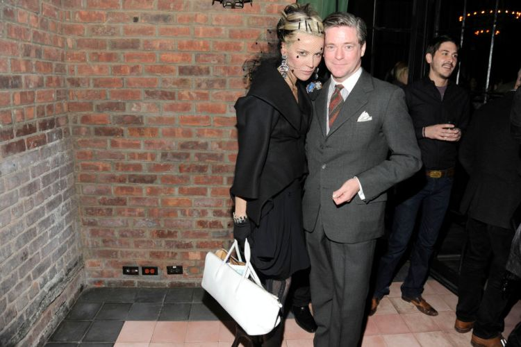 Daphne Guinness and Peter McGough