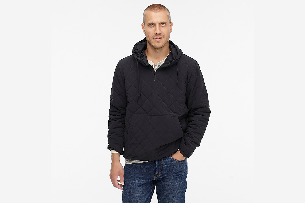 Nordic Quilted Insulated Hoodie