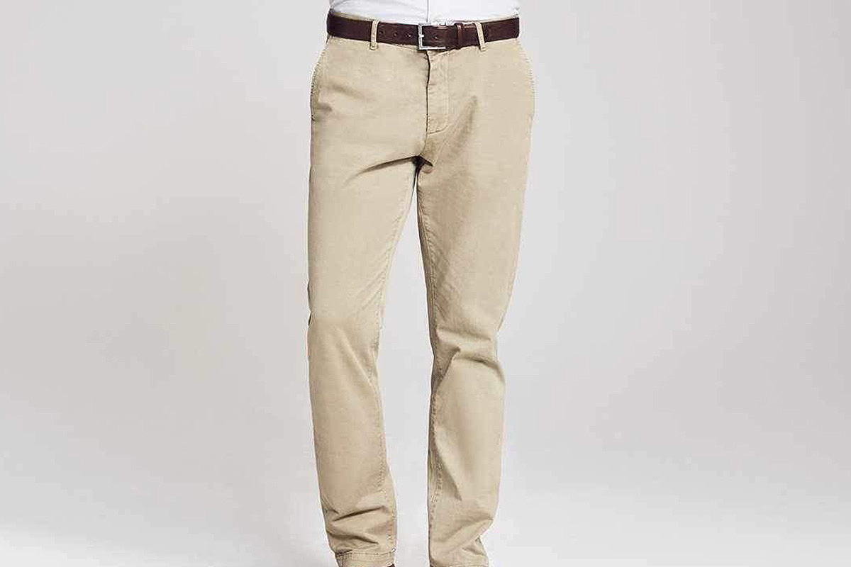 Reserve Sueded Trouser Khaki