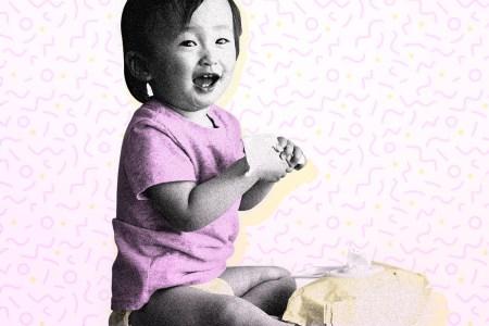 Millennial parent baby photos
