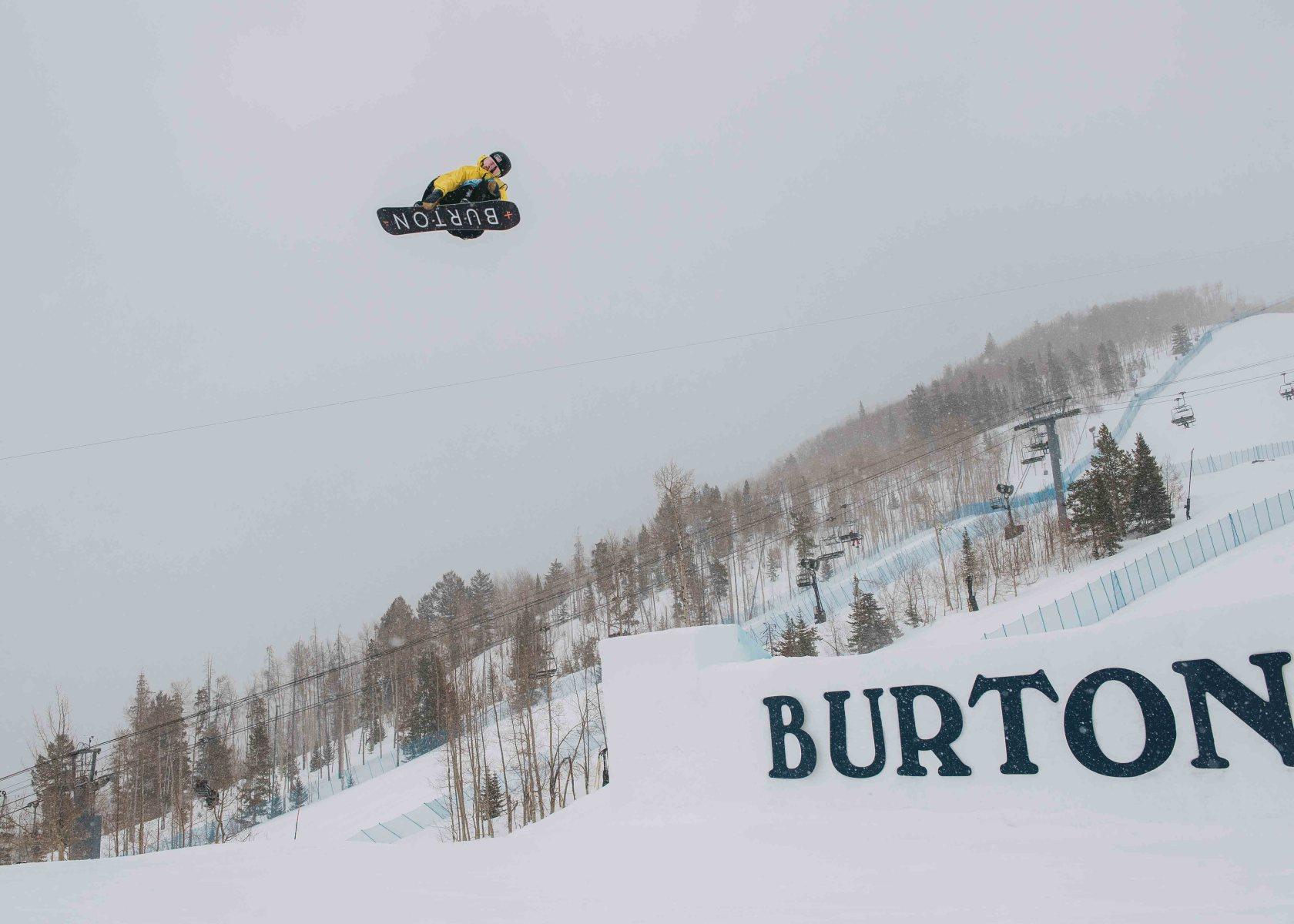 Red Gerard Burton US Open Snowboarding Championships Vail