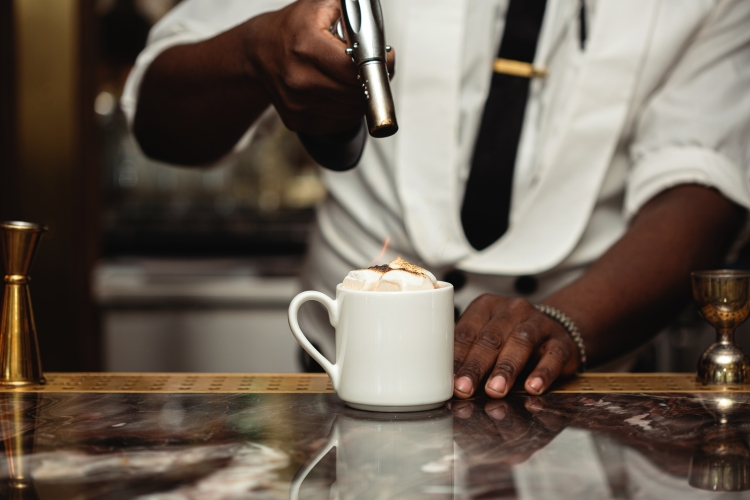 doyle's flaming hot chocolate