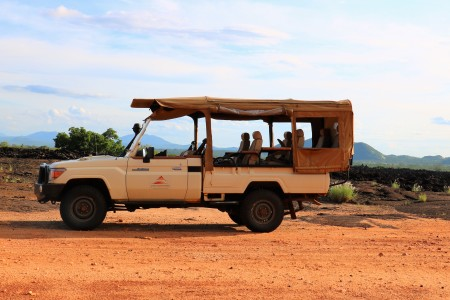 custom-outfitted Land Cruiser Africa