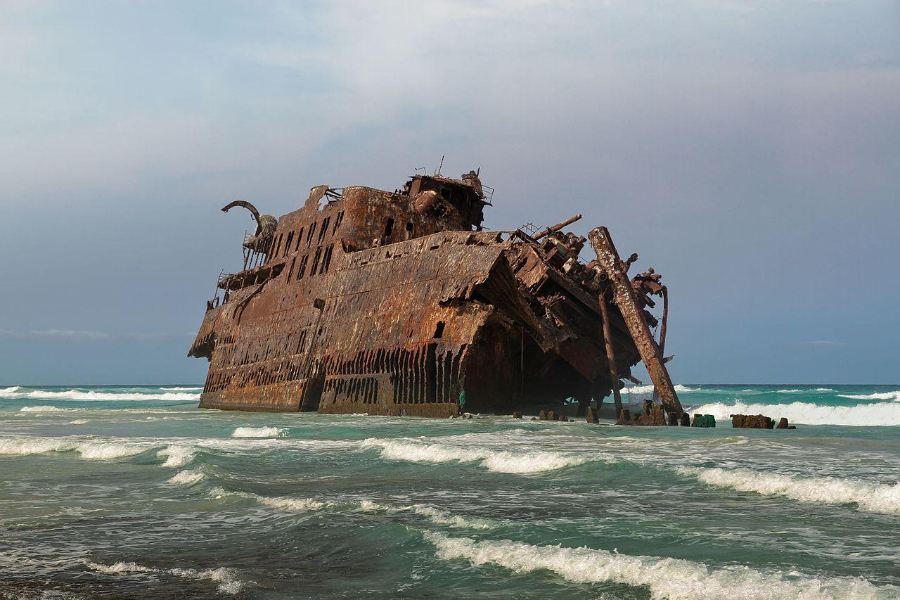 Wreck of Cabo de Santa Maria