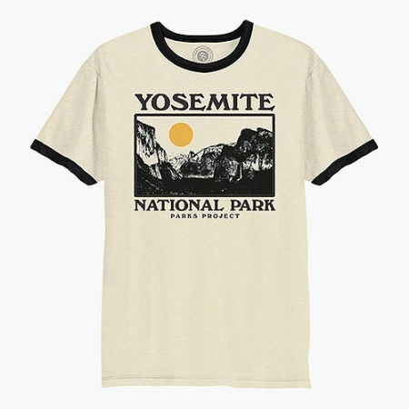 Parks Project Yosemite Photo Ringer Tee