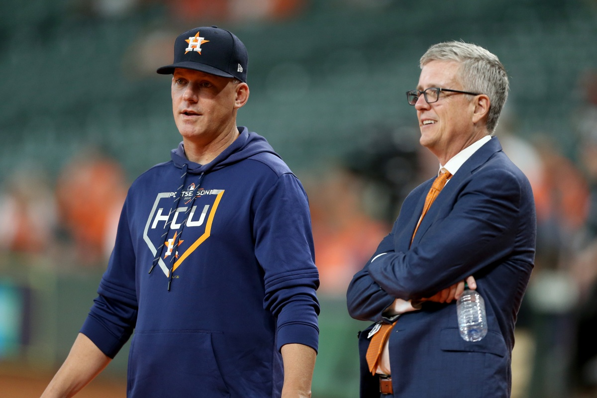 MLB Hits Astros With Unprecedented Penalties for 2017 Sign-Stealing Scandal
