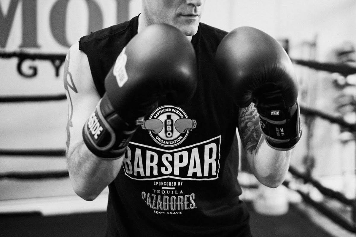 Bartender Boxing Bar Spar