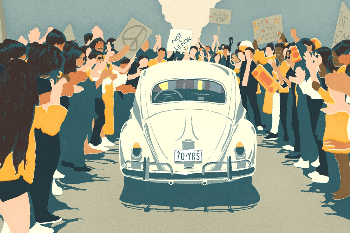 Volkswagen Beetle Tribute Video The Last Mile