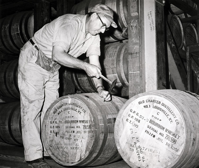 bourbon distiller 1962