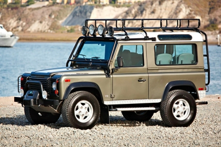 1997 Land Rover North American Specification (NAS) Defender 90