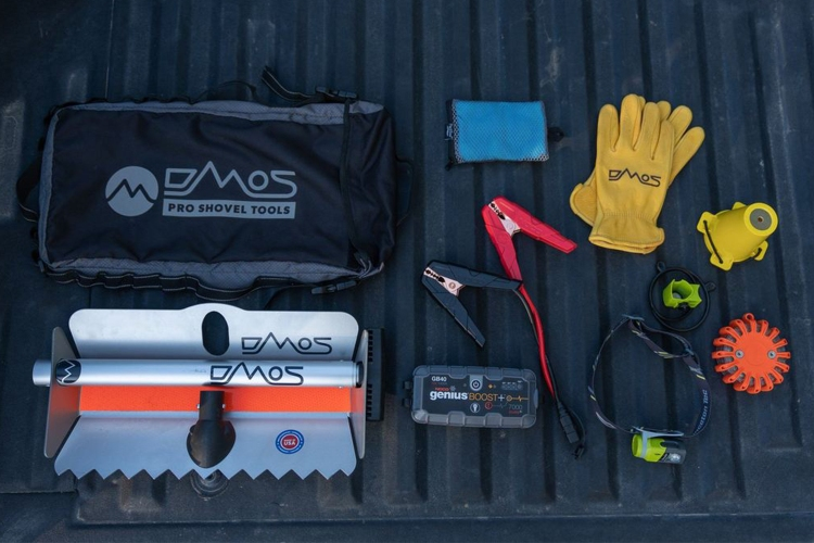 DMOS Emergency Roadside Expansion Kit With Packable Shovel