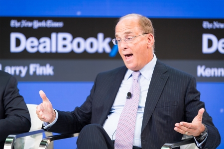 Black Rock CEO and Co-Founder Larry Fink