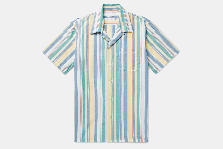Freemans Sporting Club Camp-Collar Shirt