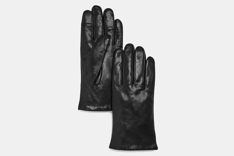 Frye Men's Cashmere-Lined Basic Tech Gloves