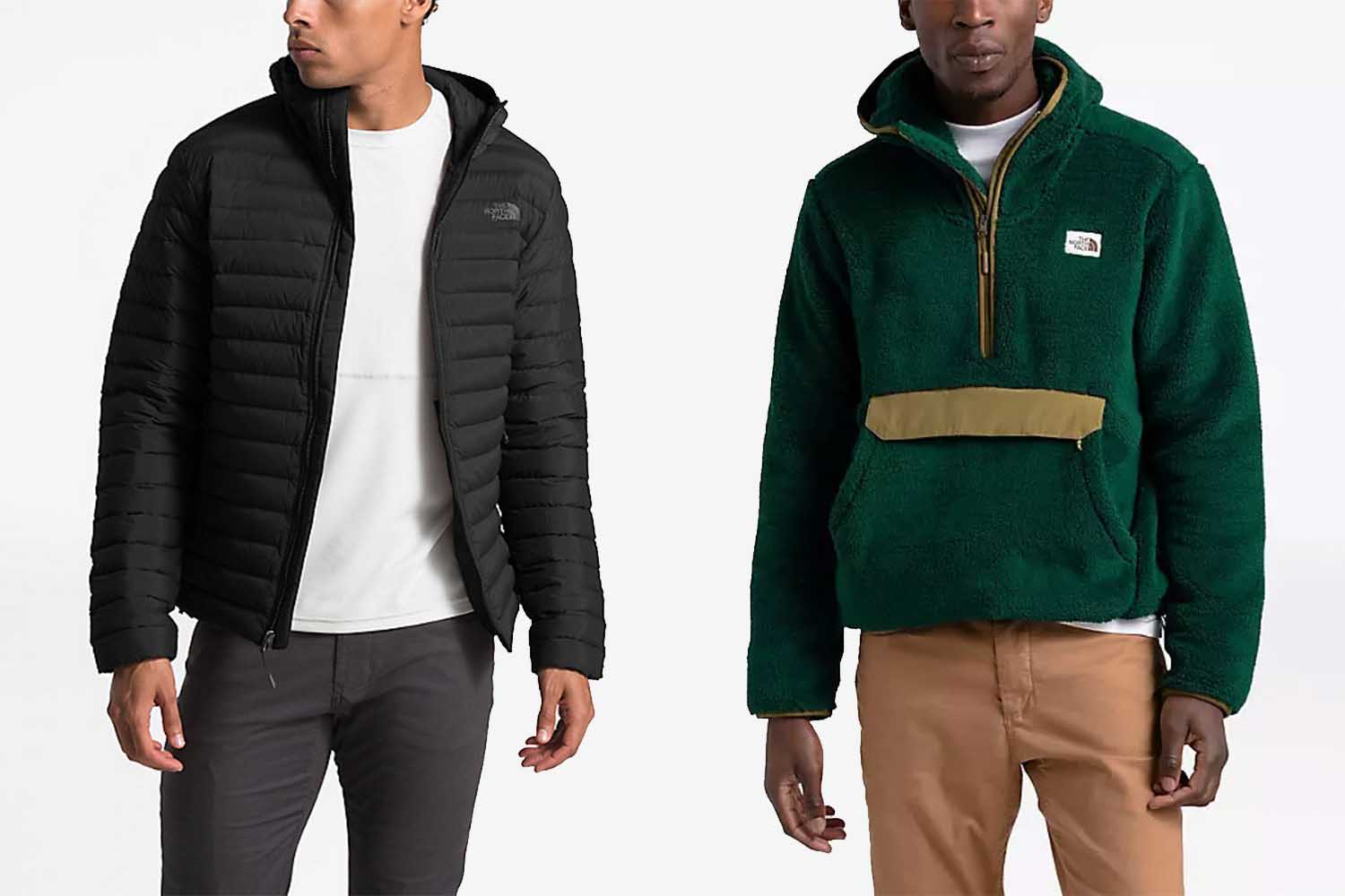 You can take 30% off tons of North Face styles, like the Stretch Down hoodie and Campshire Pullover