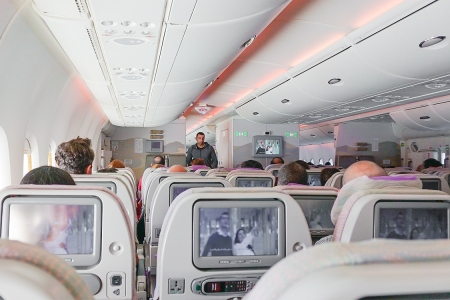 Airplane cabin for U.S. airline