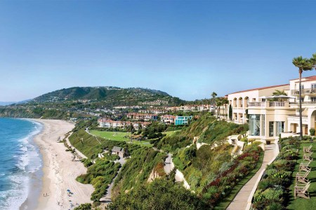 The Ritz Carlton, Laguna Niguel is one of more than a thousand hotels you can stay at via the Marriott Bonvoy rewards program.