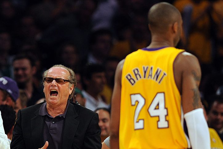 Lakers Fan Jack Nicholson Reacts to Kobe Bryant's Death