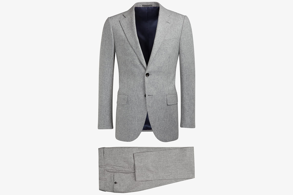 Lazio Light Grey Suit