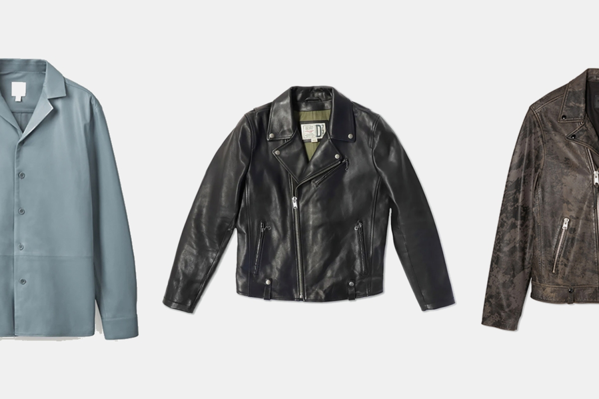 The 10 Best Leather Jackets for Men