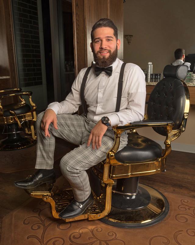 Goodman's Master Barber Rami Natour