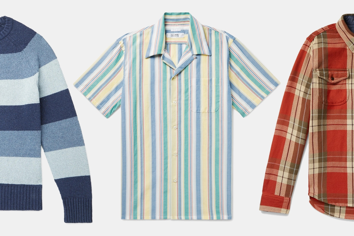 Mr Porter Sweaters, Shirts and Flannels