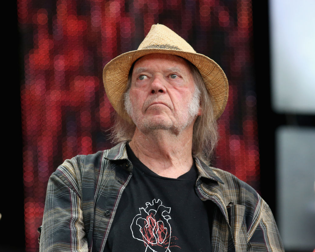 Neil Young at Farm Aid 2019