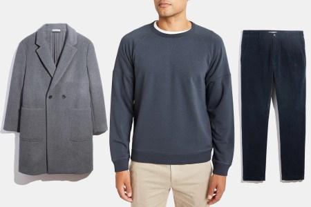 O.N.S Menswear Overcoats, Sweatshirts and Chinos
