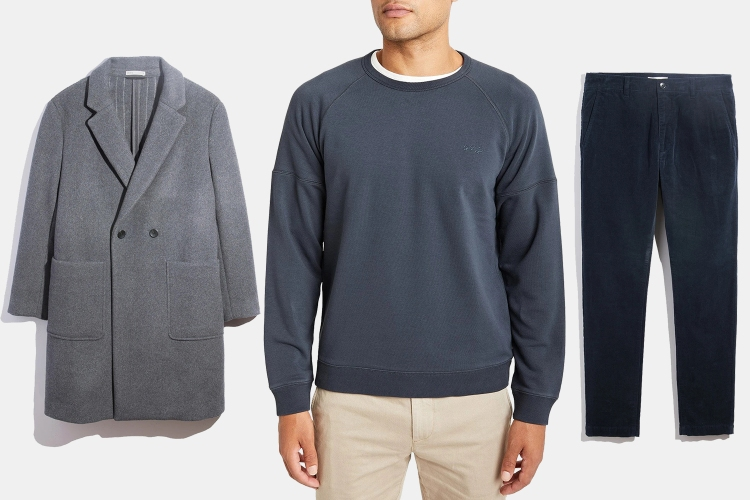 O.N.S Menswear Overcoats, Sweatshirts and Chinos