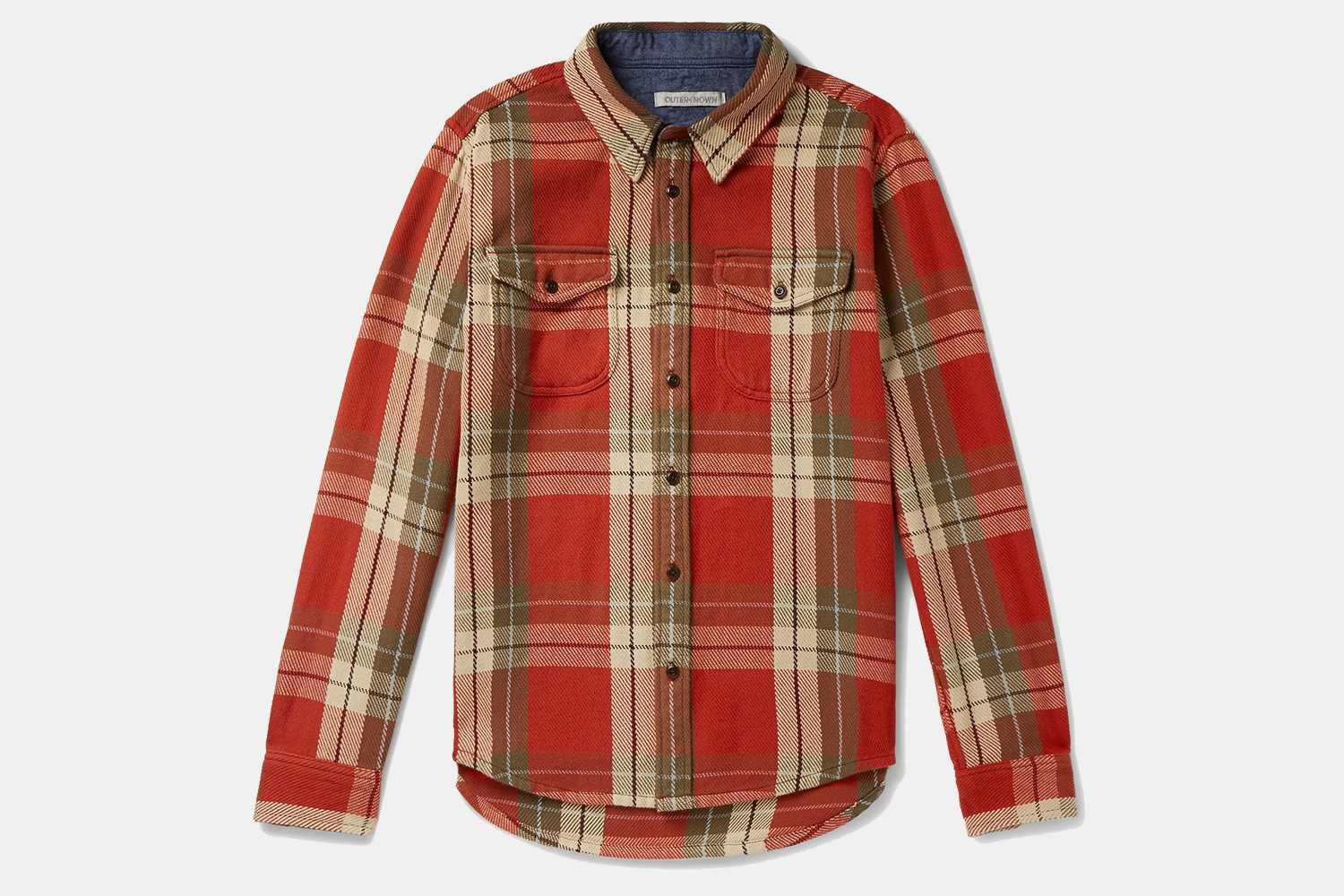 Outerknown Organic Cotton-Twill Shirt