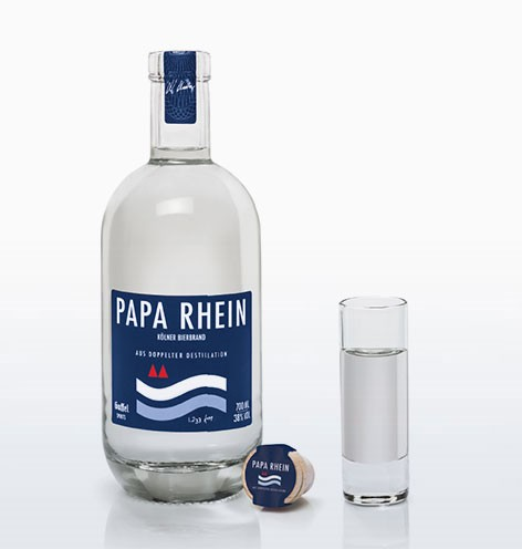 Papa Rhine bottle