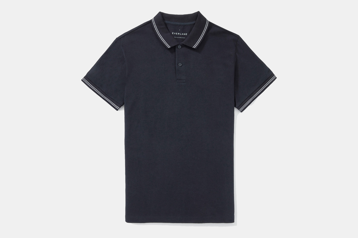 Everlane Men's Pique Polo Shirt