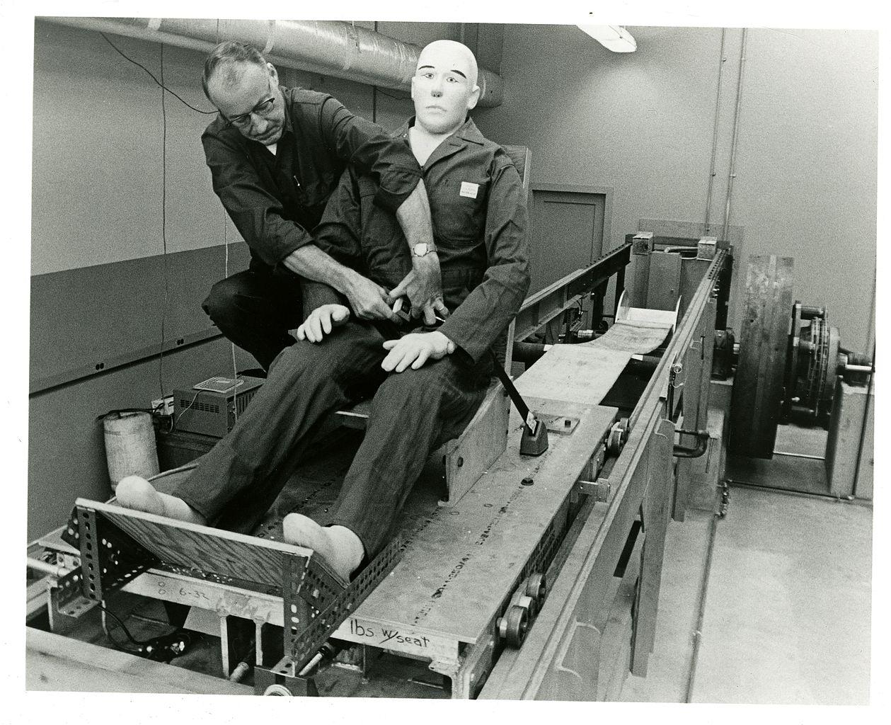Automotive seatbelt testing