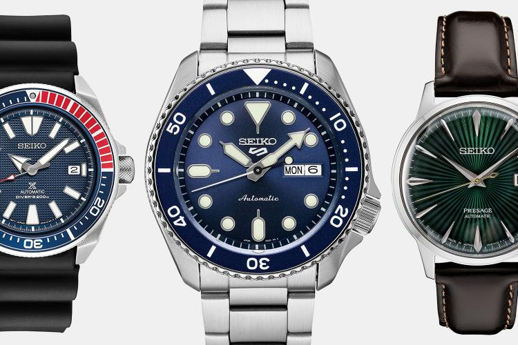 Best Seiko Watches for Men on Sale