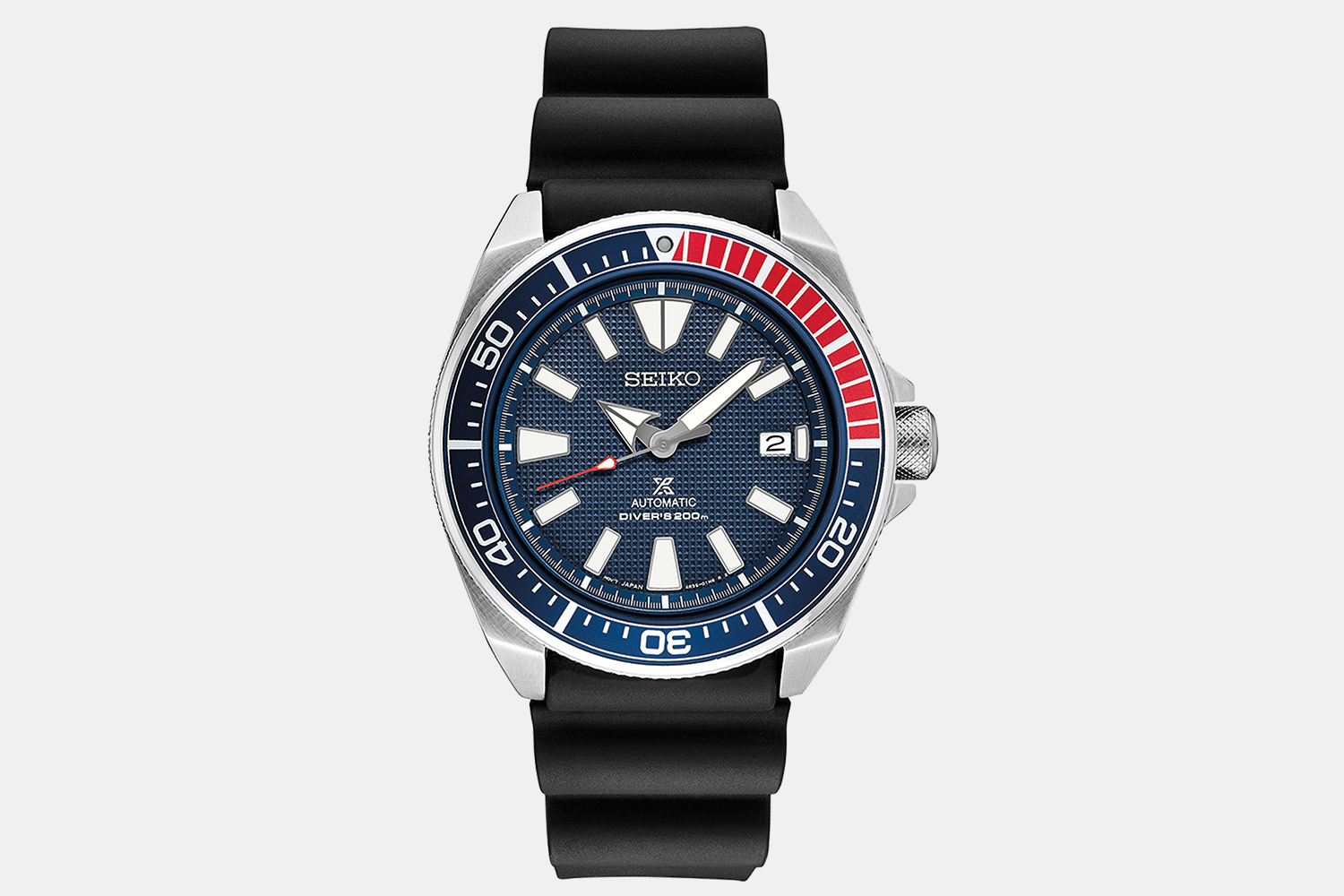 Prospex Diver With Pepsi Dial and Black Silicone Strap
